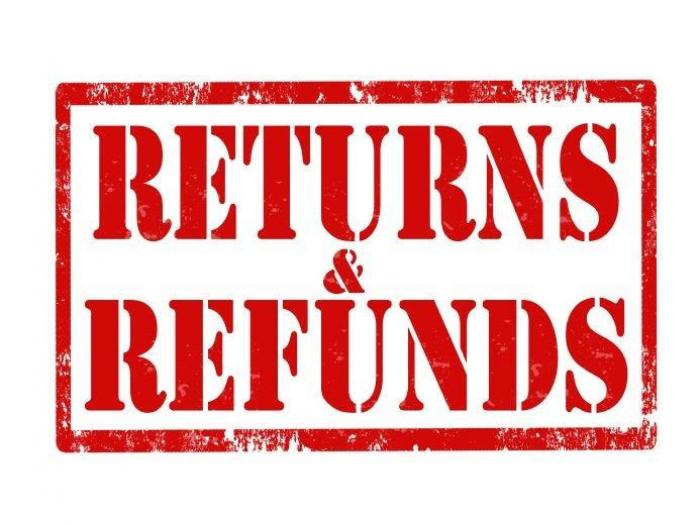 UK ECC - returns & refunds